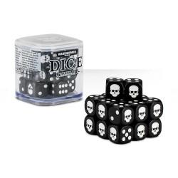 Warhammer Dice - 20 dés - Noir