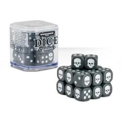 Warhammer Dice - 20 dés - gris